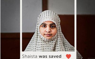 Shaista's father had always encouraged