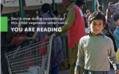 Reading is something we can take for granted.