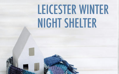 Due to the sharp rise in rough sleeping
