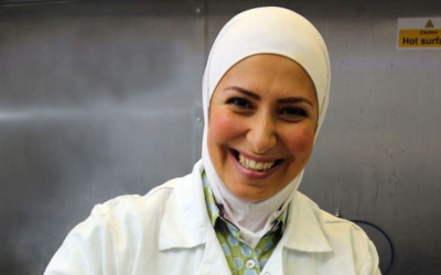 Syrian refugee becomes award-winning cheese maker