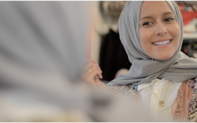 Muslim business women, wife and a mother