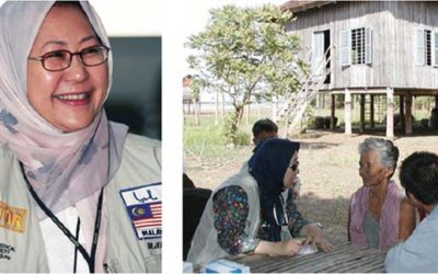 Malaysian Doctor Stitched Herself Up After Being Shot So She Could Continue Saving Lives