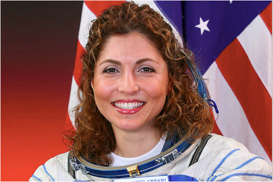 Anousheh Ansari, the world's first Muslim woman in space