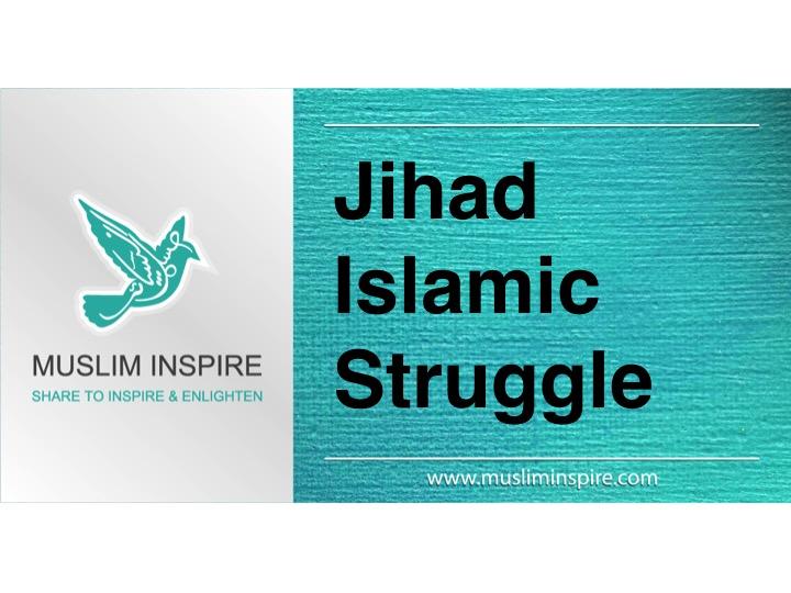Jihad Islamic Struggle