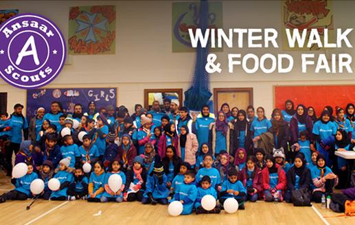 Ansaar Scouts Winter Walk   Heckmondwike   5th February 2017