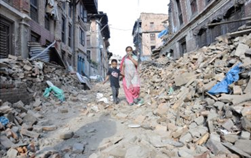 devastating Nepal earthquake