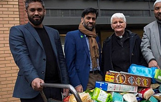 Muslim Londoners have donated 10 tonnes