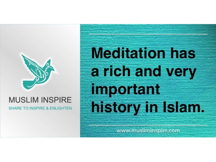 Meditation has a rich