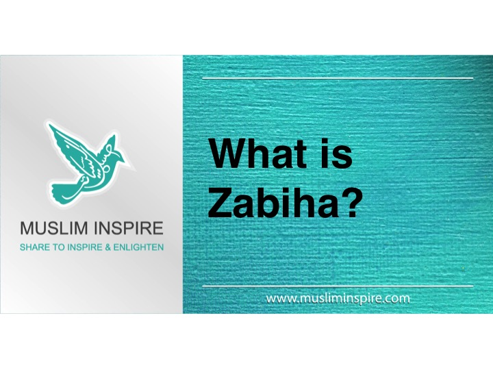 What is Zabiha?