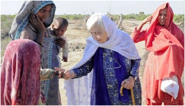 Pakistan lost a great soul today! Dr Ruth Pfau
