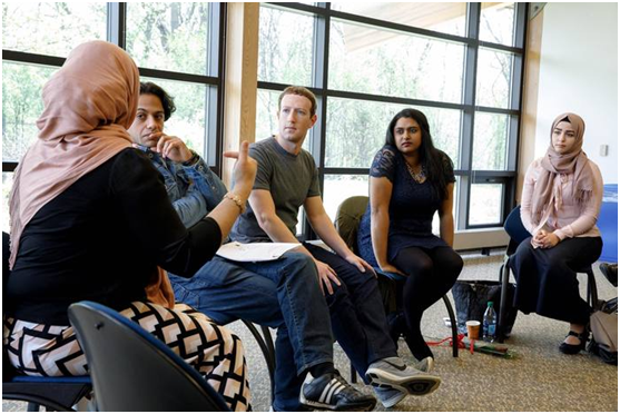 Mark Zuckerberg hung out with Muslim students to hear their stories