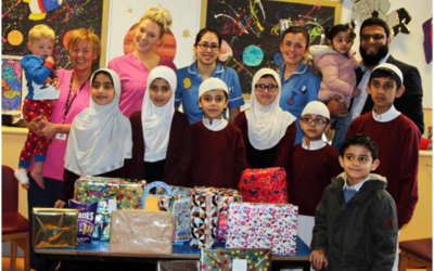 Muslim Pupils Donate Toys to Hospitalised Kids