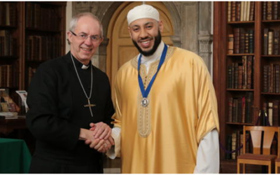 Justin Welby honours Muslim leader for heroic efforts