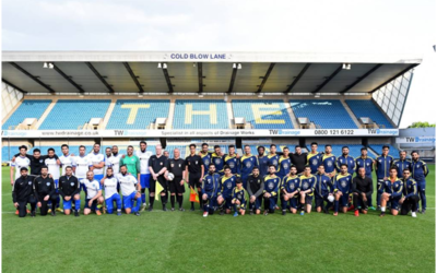 THIS CHARITY PROJECT UNIFIES BRITISH MUSLIM COMMUNITIES THROUGH FOOTBALL