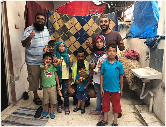 This group of friends have quietly delivered £200k in aid to refugees worldwide