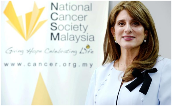 Princess Dina Mired of Jordan wants to improve global cancer control in her new role