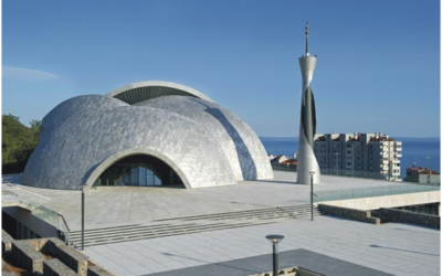 This Mosque in Croatia is Out of This World