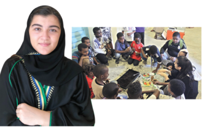 Meet Roseanne Khawaja: The Jeddah teenager who's on a mission to change the world