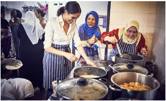 Kind Hearted Duchess of Sussex launches Grenfell recipe book