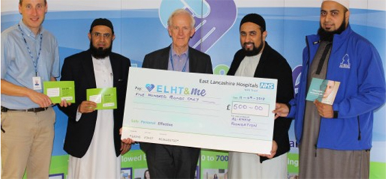Muslim charity supports hospital to tackle suicidal patients