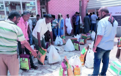 Qatar Charity provides food aid and education to Yemenis in Sudan