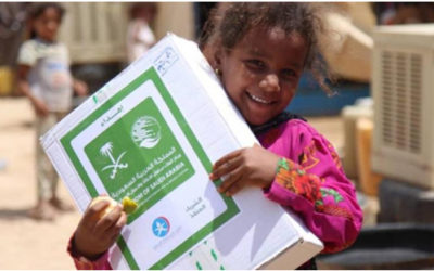 Saudi Arabia Ranks 4th among World's Largest Donors of Humanitarian Aid