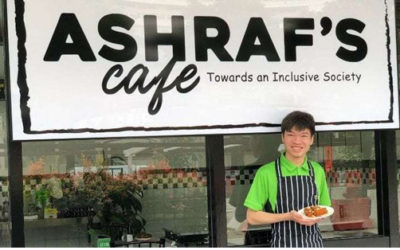 THIS CAFE TRAINS STUDENTS WITH SPECIAL NEEDS