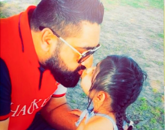Why this brave dad is posting his final photo with his daughter on electronic billboards around Birmingham