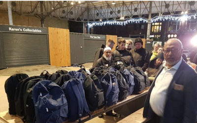 Preston mosque hands out clothes and food to rough sleepers