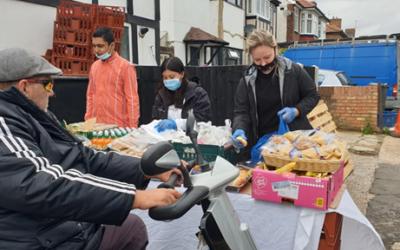 Hounslow community kitchen worker volunteers despite cancer