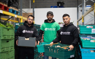 Millwall Community Trust helps Muslim Aid winter campaign to feed 35,000 Londoners