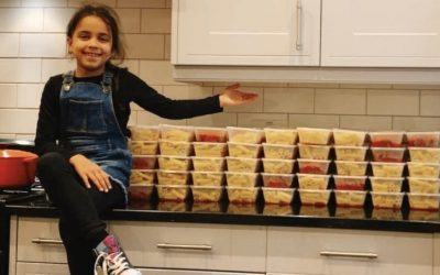 Eight – Year – Old Blackheath High Pupil Cooks 100 Meals In One Day After Being Inspired By Marcus Rashford